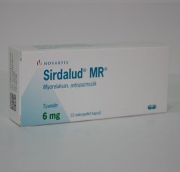 Sirdalud MR 6 mg